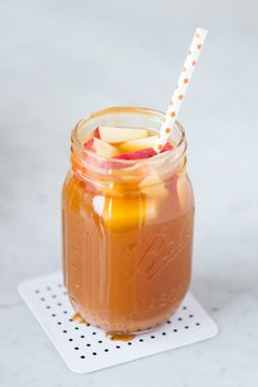 Caramel Apple Sangria Recipe on Yummly. @yummly #recipe