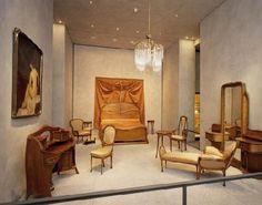 Lyon art nouveau. Chambre de Madame Guimard, Musée des beaux arts de Lyon.