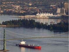 Kinder Morgan Better Answer Our Questions On Oil Spill Risk - Article Vancouver, Pipeline Project, Lions Gate, New York Pictures, Oil Spill, Environmental Issues, The Province, British Columbia, East Coast