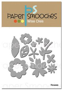 *Paper Smooches FLOWERS Wise Dies Kim Hughes