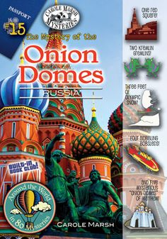 Around the world in 80 mysteries-fiction for kids.