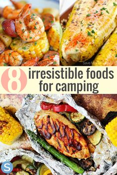 Camping doesn't always have to be s'mores and hot dogs.  You can spice it up by eating these 8 delicious camping foods. http://www.simplemost.com/irrestible-food-ideas-for-camping/?utm_campaign=social-account&utm_source=pinterest.com&utm_medium=organic&utm_content=pin-description