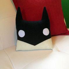 The Batman Pillow by ShliiKawaii on Etsy, $20.00