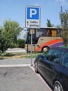 Vrouwenparkeerplaats - Wikipedia