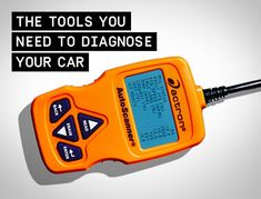 Get yourself an OBD-II scan tool, the first step in diagnosing modern automotive troubles.