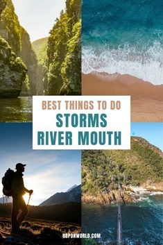 Storms River Mouth, South Africa // Exploring the Garden Route soon? Then be sure to add Storms River Mouth Rest Camp to your travel plans. This guide sets out all the best things to do at Storms River Mouth - from gorgeous hikes to fun adventure activities. Plus, get top insider's tips to help you plan the perfect trip to this scenic gem. //What to do / When to visit/ Pre-travel Tips/ Packing guide// #gardenroute #southafrica #travel #stormsriver #stormsrivermouth #hiking #adventuresports…