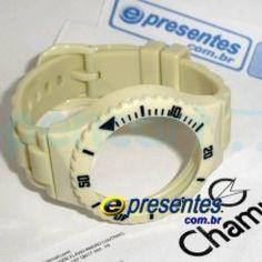 PR30219B Pulseira Champion Avulsa OFF WHITE BRILHANTE