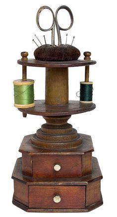 reel holder Spool PIN vintage MACHINE à COUDRE Métal Bobines PIN Pack de 2