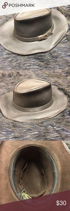 Henschel hat co. Crushable leather hat 7a7eedeedd10