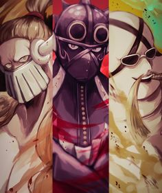 Anime Crossover, One Piece Anime, Tokyo Ghoul, Godzilla, Deadpool, Beast, Art Pieces, Geek Stuff, Superhero