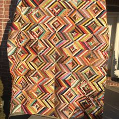 "Quilting It: ""Scrappy Strip Along"" tutorial"