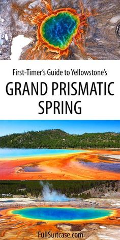 What to know before visiting Midway Geyser Basin and Grand Prismatic Spring in Yellowstone cruise travel travel cove travel teton national smoky mountains vacation national park Yellowstone Nationalpark, Visit Yellowstone, Yellowstone Vacation, Yellowstone Park, West Yellowstone Montana, Wyoming Vacation, Us National Parks, Grand Teton National Park, Vacation Spots