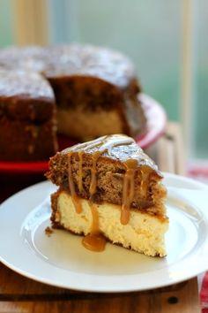 Sticky Toffee Pudding Cheesecake #food #dessert #recipe