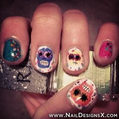 mix 4 nail art