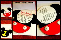 Meeska Mouska Mickey Mouse Fun!  Drew Turns ONE! | CatchMyParty.com