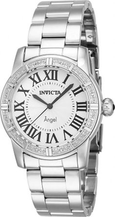 Invicta 14716 Angel Royale Diamond Accented Stainless Steel Womens Watch | Jewelry & Watches, Watches, Parts & Accessories, Wristwatches | eBay!