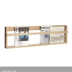 reduziertes Design  unbehandeltes Holz  dänisches Label