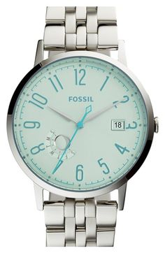 Fossil 'Vintage Muse' Multifunction Bracelet Watch, 40mm available at #Nordstrom