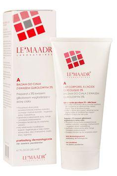 Le'Maadr A Balsam do ciała z kwasem glikolowym 3%  200 ml