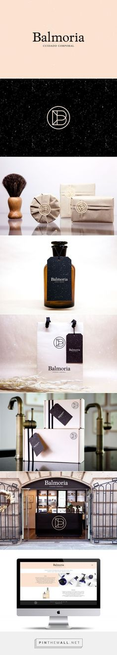 Balmoria Beauty and Personal Care Distributor Branding by Sociedad Anonima | Fivestar Branding Agency – Design and Branding Agency & Curated Inspiration Gallery: