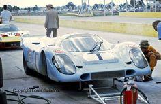 Gulf Porsche 917K training car at Sebring 1970