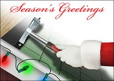 Roofing Christmas Cards