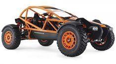 The same guys behind the spectacular Ariel Atom high-performance supercar, have introduced, the outrageously fun-looking, Nomad. The two-seat rugged off-roader is powered by a Honda four-cylinder iVTEC engine, delivering an impressive 235 h Ariel Atom, Vw Beach, Beach Buggy, Ariel Nomad, Off Road Buggy, Sand Rail, Top Gear, Toys For Boys, Offroad
