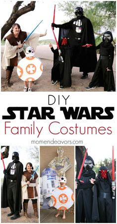 DIY Star Wars Costumes for the whole family!!