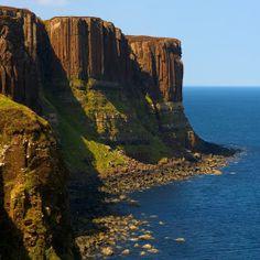 Kilt Rock, Ellishadder, Isle of Skye, Scotland