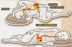 Los beneficios de dormir del lado izquierdo del cuerpo