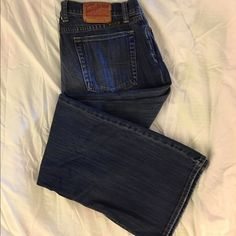 Lucky Brand Jeans Lucky Brand jeans in good condition. Button fly. Lucky Brand Jeans Boot Cut