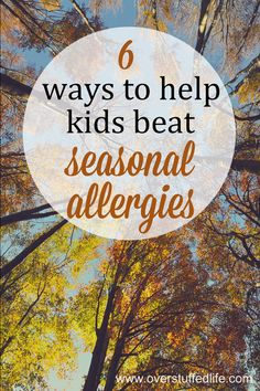 Allergies Remedies Does your kid suffer from seasonal allergies? Try these 6 things to help them enjoy more outdoor time during allergy season this year. Toddler Allergies, Fall Allergies, Pollen Allergies, Seasonal Allergies, Leiden, Young Living, Allergy Remedies For Kids, Asthma Relief, Allergy Relief