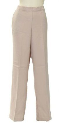 da477552304 Solid Proportioned Medium Pant in Champagne by Alfred Dunner (16) Alfred  Dunner.  23.65