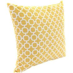 """Free Shipping on orders over $35. Buy 18"""" Outdoor Toss Pillow, Hockley Bannana at Walmart.com"""