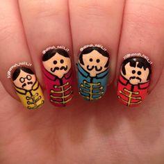 Instagram media by hannah_nails_it -  The Beatles #nail #nails #nailart