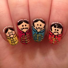 Instagram media by hannah_nails_it -  The Beatles #nail #nails #nailart