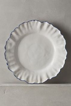 Anthropologie Ruffled Rim Dinnerware #anthrofave