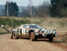 Lancia Stratos rally car! Beautiful!