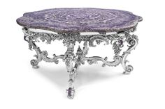 Crafted and designed according to the ancient Florentine techniques, Baldi classic furnitures give shape to dreamlike interiors Richelieu round table in amethyst and silver plated bronze Dream Furniture, Classic Furniture, Luxury Interior, Interior Design, Classic Artwork, Malachite, Furnitures, Decorative Accessories, Silver Plate