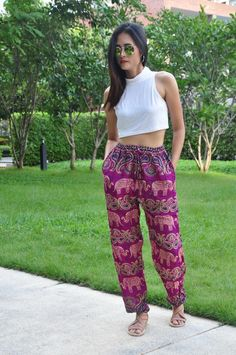 Hippie clothing Boho Pants Harem Pants Elephant print | Etsy   #Etsy #harempants #yogapants #womenpants #hippiepants #gypsypants #Traveler #Bohostyle #elephantpants #women #womensfashion #womenswear #womenempowerment #womenstyle #womenfashion #womens #womenwholift #fashion #fashionblogger #fashionable #fashionstyle #fashionblog #FashionAddict #fashiondiaries #fashionpost #fashionphotography #fashionlover #fashionmodel #fashiondesign #fashiondaily #fashionstylist Hippie Style Clothing, Hippie Outfits, Gypsy Pants, Boho Pants, Lounge Pants Outfit, Boho Fashion, Fashion Outfits, Fashion Design, Funny Pajamas