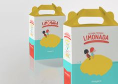 Packaging to encourage children to eat their fruits and vegetables.This project includes stickers for the fruit, individual packages for sliced fruit, funny paper to use at a picnic and a box to prepare natural lemonade with real lemons.Some external …