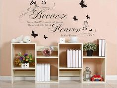 Because Someone We Love Wall Decal