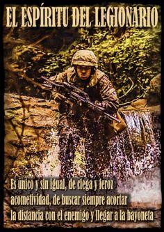Credo Legionario Honest Quotes, Close Image, Marines, Movie Posters, Life, Arrow Keys, Cartoons, Army, Military Pictures