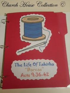 The Life Of Tabitha.  This goes well with the free lesson at  http://missionbibleclass.org/1b0-new-testament/new-testament-part-2/acts-the-church-begins/dorcas-is-raised-from-the-dead/
