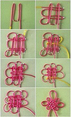 Macrame Flower Knot