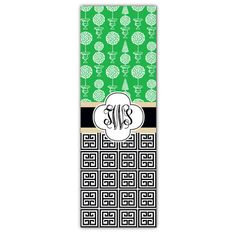 Topiary Mix Personalized Yoga Mat