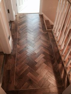 13 Wood Floor Parquet Design Wood Floor Parquet Design - Walnut parquet floors with brass inlays Kährs Wood flooring Parquet Interior Design Oak Natural Chevron Parquet Engineered. Karndean Flooring, Hall Flooring, Timber Flooring, Parquet Flooring, Vinyl Flooring, Hardwood Floors, Types Of Wood Flooring, Wood Floor Design, Herringbone Wood Floor