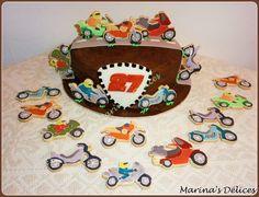 #cake #motorbike #cookies #torta #moto #biscotti