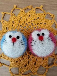 도라에몽 여친추가 도라에몽 수세미도 만들어 봤어요~ 도안 없이 뜨는과정만 올려요~ 우선 배부분을 둥글게... Crochet Scrubbies, Crochet Earrings, Bubbles, Embroidery, Knitting, Creative, Amigurumi, Hipster Stuff, Knit Bag