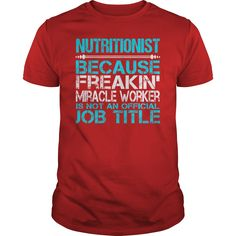 Awesome Tee For Nutritionist T-Shirts, Hoodies. VIEW DETAIL ==►…